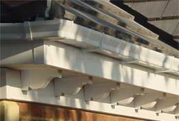 Exterior Decorative Dentil Mouldings