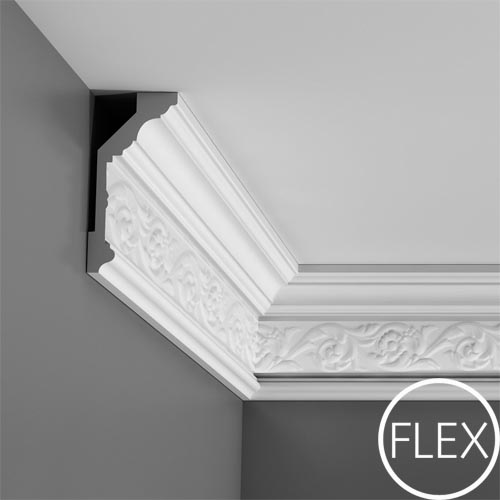C 303 Floral Ceiling Coving Gyproc And Orac Mouldings