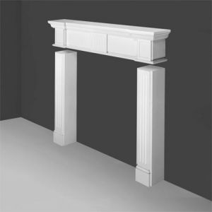 H101 Linear Mantelpiece