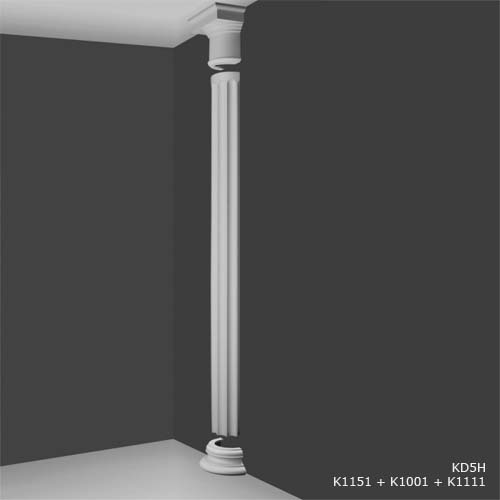 Small Round Half Plinth Decorative Half Columns Interior Half Columns House Martin