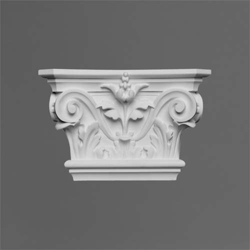 Exterior: Decorative Pilasters And Pillars