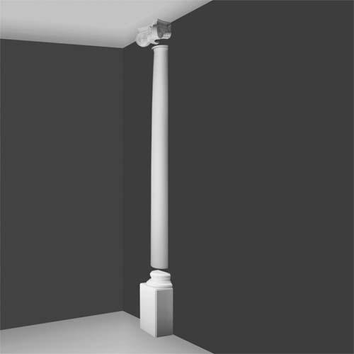 Ki 2h Ionic Half Column Decorative Half Columns Interior Half Columns House Martin Online