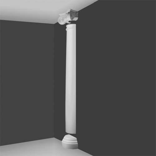 Ki 3h Ionic Half Column Decorative Half Columns Interior Half Columns House Martin Online