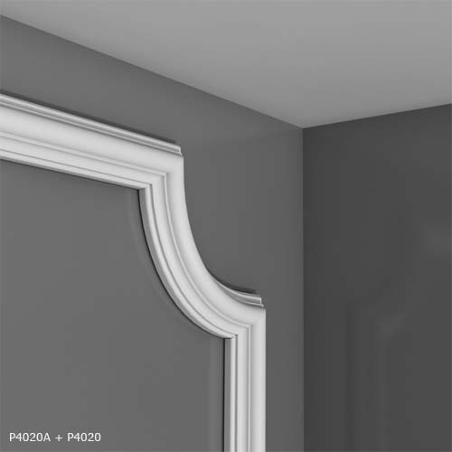 P.4020 Premium Dado Rails - Decorative Mouldings - Panel ...