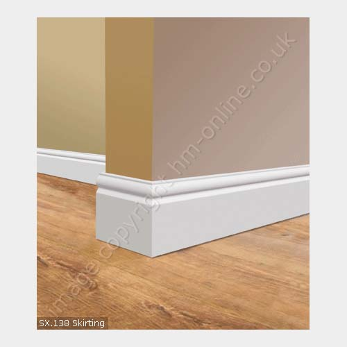 Sx 138 Waterproof Skirting Board Interior Architectural